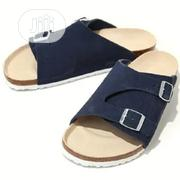 Side Cut Birks Slippers - Navy Blue | Shoes for sale in Lagos State, Isolo