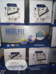 200ah/12v ABSOLYTE Battery | Electrical Equipment for sale in Lagos State, Ojo