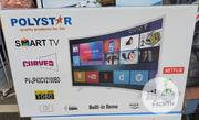 Polystar 43 Inchs Curve | TV & DVD Equipment for sale in Lagos State, Ojo