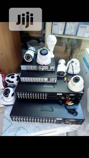 CCTV CAMERA With Wi-fi Signals And Motion Detection