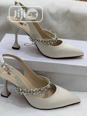 New Designer Female White Halfshoe | Shoes for sale in Lagos State, Ikeja