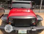 Jeep Wrangler 2009 Red | Cars for sale in Lagos State, Alimosho