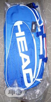 Head Tennis Racket Bag 3zipper Without Thermoguard | Sports Equipment for sale in Abuja (FCT) State, Kabusa