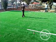 Artificial Astro Turf Grass Installation On Football Field | Landscaping & Gardening Services for sale in Lagos State, Ikeja