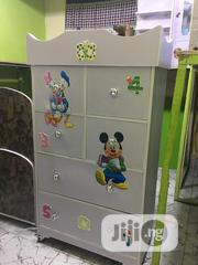Quality Wooden Wardrobe For Kids With Different Storages   Children's Furniture for sale in Lagos State, Ojota