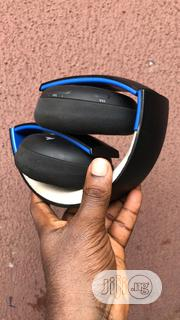 Sony Playstation GOLD Headset (Black) | Headphones for sale in Lagos State, Surulere