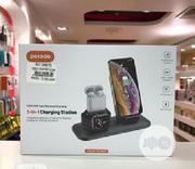 Porodo 3 In 1 Charging Station, 7.5W/10W Fast Wireless | Accessories for Mobile Phones & Tablets for sale in Lagos State, Ikeja