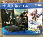New Sony Playstation 4 PS4 Slim 1TB Console 3 Game Bundle   Video Games for sale in Lagos State, Agege