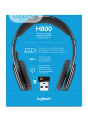 Logitech H800 Bluetooth Wireless Headset With Mic for PC and Tablets | Headphones for sale in Lagos State, Ikeja