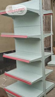 Supermarket Shelves Double White | Store Equipment for sale in Abuja (FCT) State, Wuse 2
