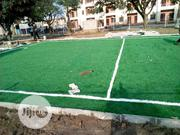Quality Football Pitch Artificial Grass Installation | Landscaping & Gardening Services for sale in Lagos State, Ikeja