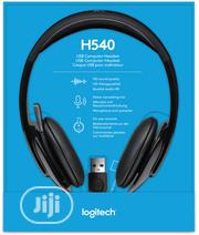 Logitech H540 USB COMPUTER HEADSET With High-Definition Sound | Accessories for Mobile Phones & Tablets for sale in Lagos State, Ikeja