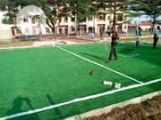 Synthetic Green Grass Installation For Pitch Side In Lagos | Landscaping & Gardening Services for sale in Lagos State, Ikeja