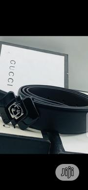 Original Gucci Belt Black | Clothing Accessories for sale in Lagos State, Surulere