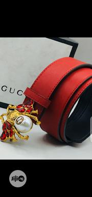 Gucci Leather Belt Original | Clothing Accessories for sale in Lagos State, Surulere