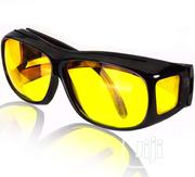 HD Night Vision Wrap Around Glasses Night Vision Driving Glasses | Clothing Accessories for sale in Lagos State, Ikeja