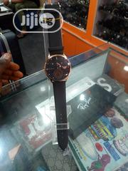Black Leather Wrist Watch | Watches for sale in Lagos State, Lekki Phase 2