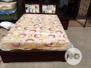 4x6 Bedframe With Mouka Mattress | Furniture for sale in Lagos State, Ojo