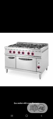 6burners Gas Cooker With Oven. Industrial Range Cooker | Restaurant & Catering Equipment for sale in Abuja (FCT) State, Maitama