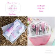 Gift Box Of Bridal Robe And Flip-flop (Bulk Purchase) | Arts & Crafts for sale in Lagos State, Lagos Mainland