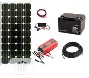 1000W Solar Generator With 100ah Battery And 150W Solar Panel | Solar Energy for sale in Lagos State, Ikeja