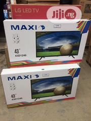 Maxi 43inches Tv | TV & DVD Equipment for sale in Lagos State, Ojo
