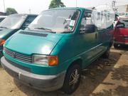 Delivering Volkswagen Transporter 2002 Green.   Buses & Microbuses for sale in Lagos State, Lagos Mainland