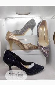 New Ladies Stone Designer Heel Shoes | Shoes for sale in Lagos State, Victoria Island