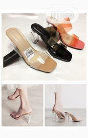 Transparent Female Heel Shoes | Shoes for sale in Lagos State, Victoria Island
