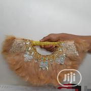 Gold Fur Fan | Clothing Accessories for sale in Anambra State, Awka