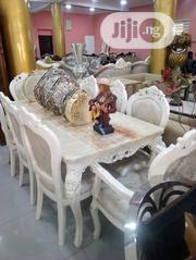 Royal Marble Dinning By 8 Chairs | Furniture for sale in Lagos State, Ojo