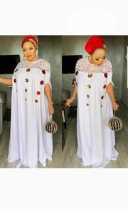 New Female White Maxi Long Gown | Clothing for sale in Lagos State, Victoria Island