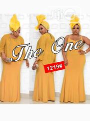 New Quality Female Yellow Long Gown   Clothing for sale in Lagos State, Victoria Island