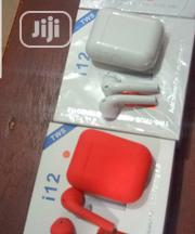 I12 Wireless (White, Red &Black Colours Available) | Headphones for sale in Lagos State, Ikeja