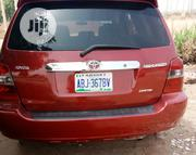 Toyota Highlander 2003 Red | Cars for sale in Abuja (FCT) State, Apo District