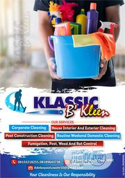 KLASSIC B'kleen Cleaning Service | Cleaning Services for sale in Oyo State, Ibadan