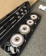 50kg Barbell With Plate And Dumb-ell | Sports Equipment for sale in Lagos State, Apapa
