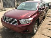 Toyota Highlander 2008 4x4 Red   Cars for sale in Lagos State, Surulere