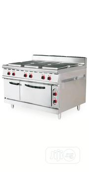 Industrial Electric Cooker 6plate With Oven | Restaurant & Catering Equipment for sale in Lagos State, Ojo