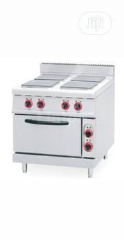 Industrial Electric Cooker 4plate With Oven | Restaurant & Catering Equipment for sale in Lagos State, Lekki Phase 1