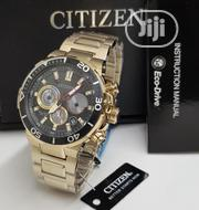 Citizen Stainless Steel Gold Wristwatch / Wrist Watch | Watches for sale in Lagos State, Ikeja