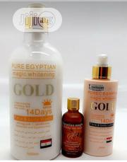 Pure Egyptian Magic Whitening Set, Shower Gel, Oil, Lotion | Bath & Body for sale in Lagos State, Lagos Mainland
