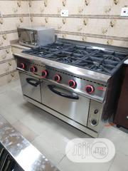Industrial Gas Cooker 6burners With Oven | Restaurant & Catering Equipment for sale in Lagos State, Ojo