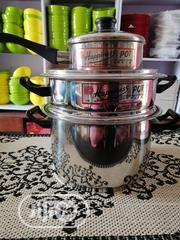Stainless Steel Stock Pots | Kitchen & Dining for sale in Lagos State, Ajah
