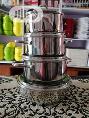 Stainless Steel Pot Set | Kitchen & Dining for sale in Lagos State, Ajah