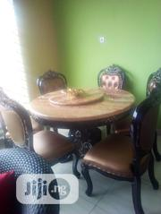 Royal Round Marble Dinning By 6: | Furniture for sale in Lagos State, Ojo