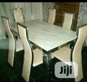 Imported Mable Dinning With 6 Chairs | Furniture for sale in Rivers State, Port-Harcourt