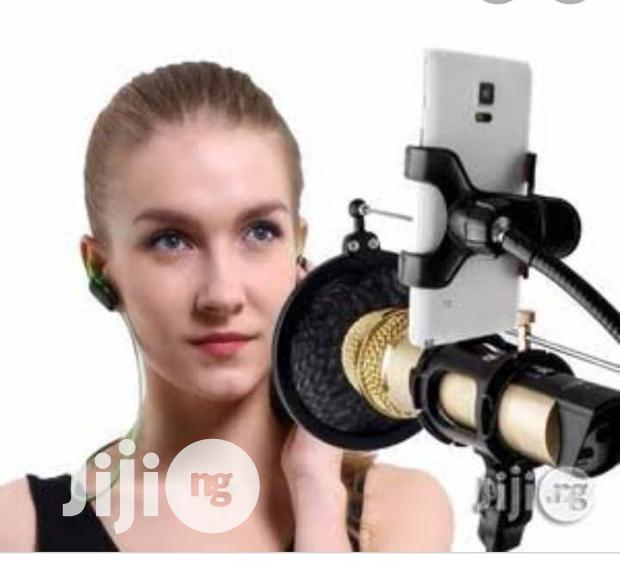 Remax Mobile Record Studio With Phone Holder