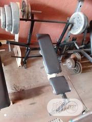 Weight Bench With 30kg Weight | Sports Equipment for sale in Lagos State, Surulere