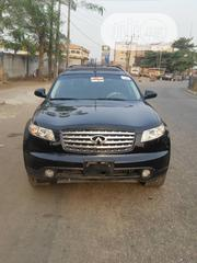 Infiniti FX35 2003 Base 4x4 (3.5L 6cyl 5A) Black   Cars for sale in Lagos State, Ipaja